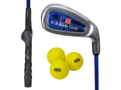 US Kids RS45 Yard Club + 3 Yard míčky, levá (114 cm)