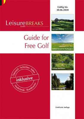 LeisureBREAKS 2019/20 - 530 kuponů na golf za polovic DOPRODEJ