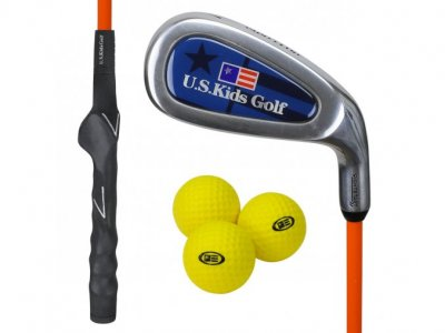 US Kids RS51 Yard Club + 3 Yard míčky, levá (130 cm)