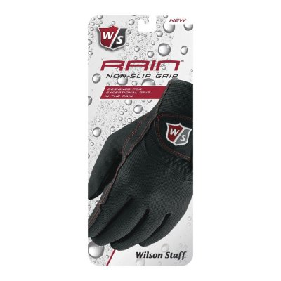 Wilson Staff Rain Non-Slip Grip rukavice dámské černé 8195468b7b