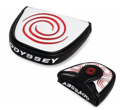 Odyssey Tempest II headcover na putter, mallet