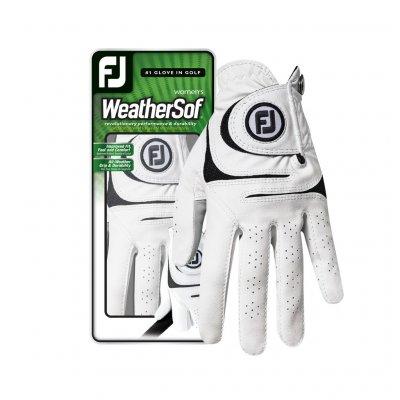 FootJoy WeatherSof dámská golfová rukavice bílá d1698c2087